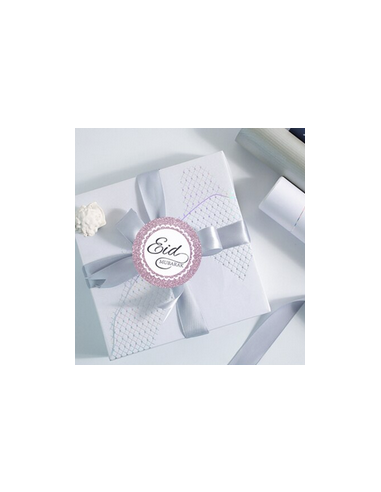 Stickers rose Eid mubarak X12