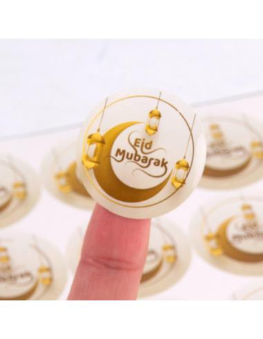 Stickers OR Eid mubarak X12