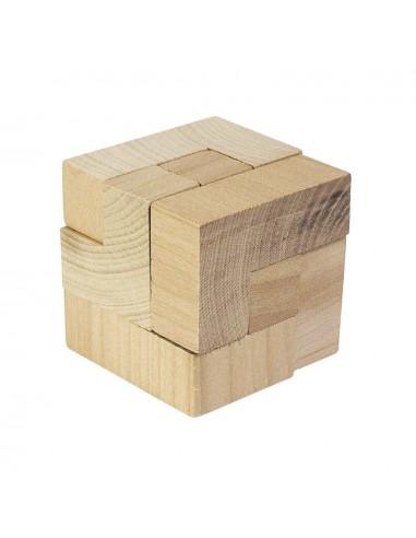 Puzzle : Le Cube en bois