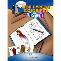 Mon livre de coloriage Tome...