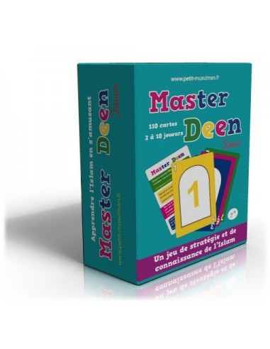 Jeu de cartes Master Deen 1 - Version...
