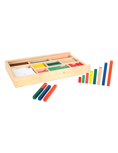 Bâtonnets de calcul en bois