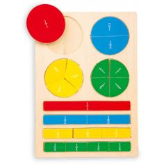 Puzzle des fractions