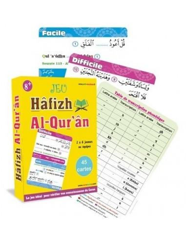 Hâfizh Al Qur'ân : Jeu de 45 cartes...
