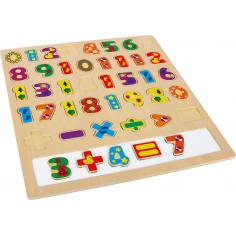 Puzzle des mathématiques
