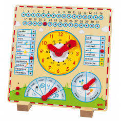 Horloge-calendrier-meteo en...