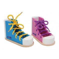 Chaussure à lacer