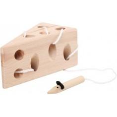 Jeu en bois : Le fromage et...