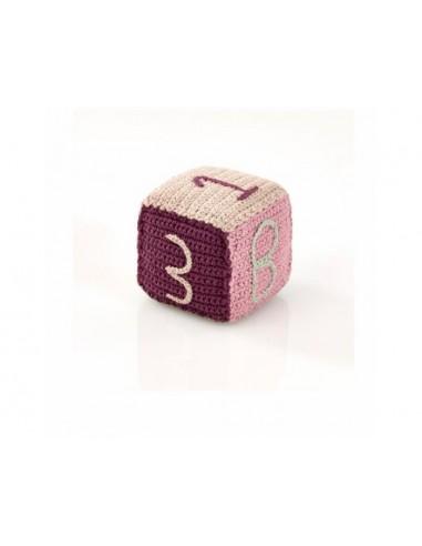 Cube en crochet fait main - Commerce...
