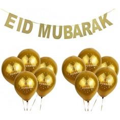 "Bannière ""EID Mubarak"" + 10..."